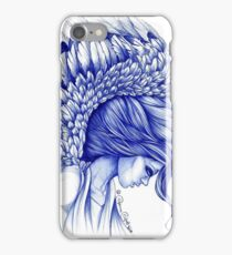 My Guardian Angel Ball Pen Ink Artwork iPhone Case/Skin
