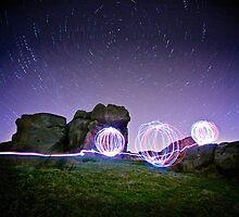 Light Spheres & Star Trails by eatsleepdesign