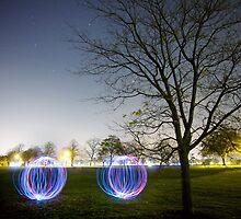 Twin Light Spheres by eatsleepdesign