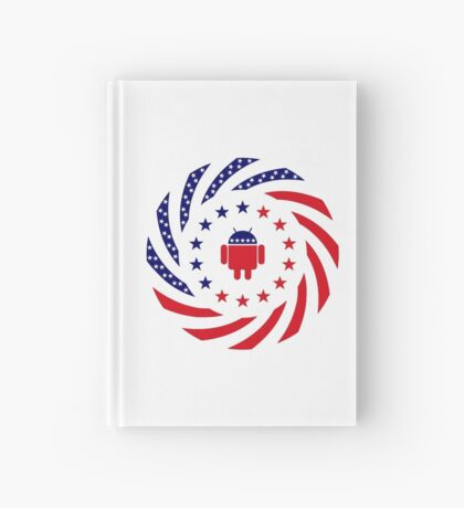 Android Murican Patriot Flag Series Hardcover Journal