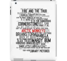 Arctic Monkeys Song Collage iPad Case/Skin