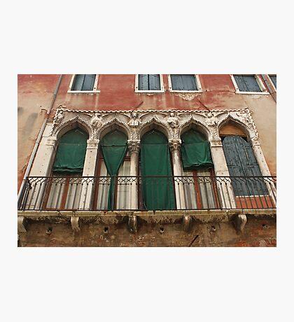 Venetian Windows 2 Photographic Print