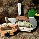 Piggy Banks, sort of.... by WildestArt