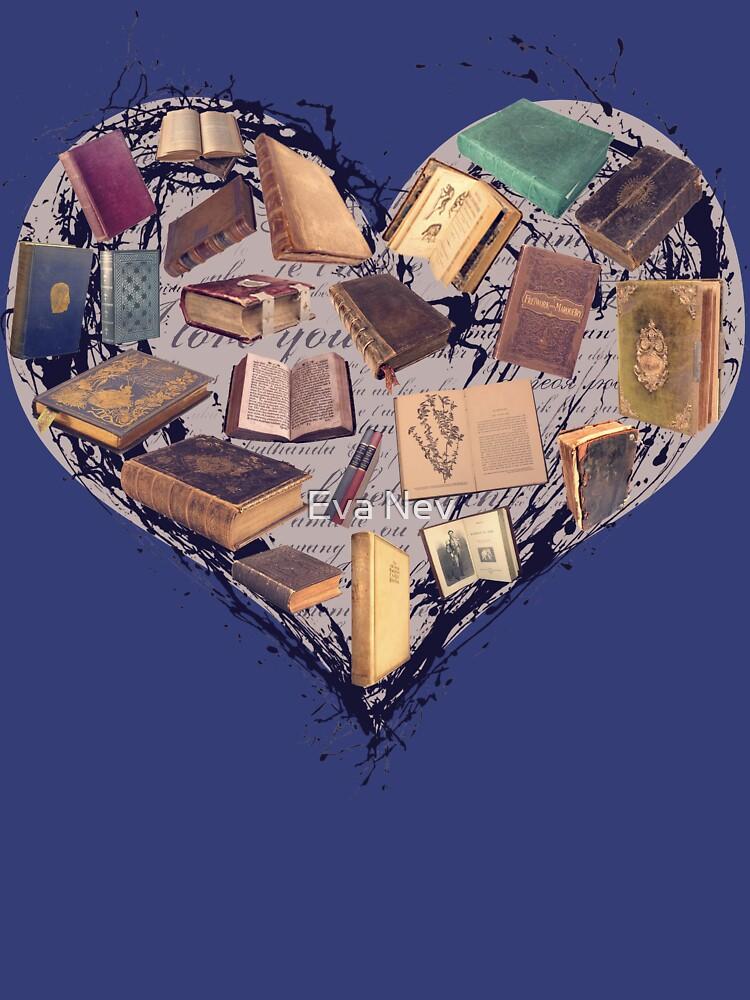 Traum mit Büchern - Liebe zum Lesen Bücherregal von 3vaN