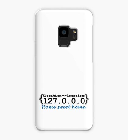 127.0.0.0 - Home sweet Home VRS2 Case/Skin for Samsung Galaxy