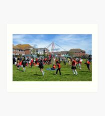 Dance Around The Maypole  .. Art Print