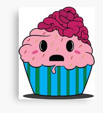Cupcake brains Canvas Print