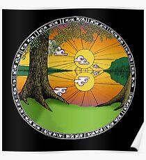 Celtic Porthole Poster