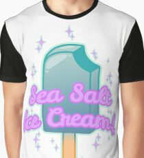 Sea Salt Ice Cream! - Violet Graphic T-Shirt