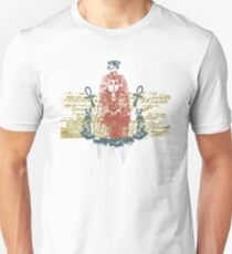 King Tut and eye of Ra Slim Fit T-Shirt