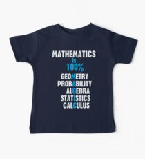 Mathematics Baby Tee