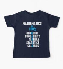 Mathematics Baby Tee