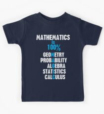 Mathematics Kids Tee