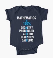 Mathematics One Piece - Short Sleeve