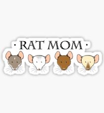 Rat Mom Sticker