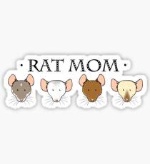 Rat Mom Sticker
