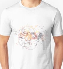 Time Lord Writing (blue) T-Shirt