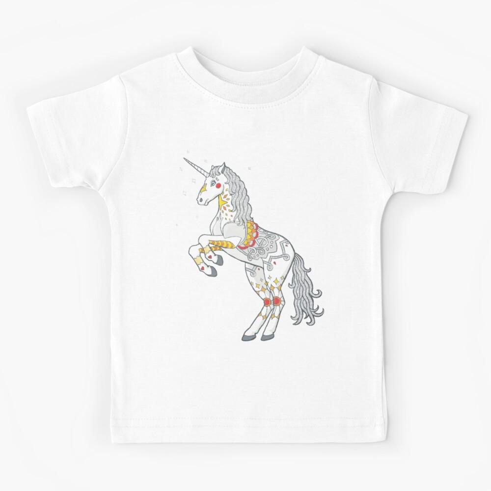 Mandala Unicorn Kids T-Shirt