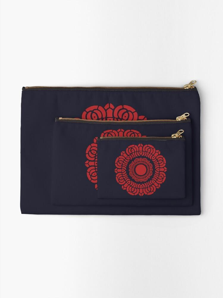 Alternate view of Legend of Korra - Red Lotus Zipper Pouch