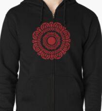 Legende von Korra - Roter Lotus Kapuzenjacke