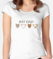 Rat Dad Women's Fitted Scoop T-Shirt