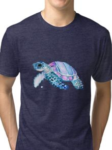 Lovely Turtle Tri-blend T-Shirt