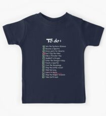 Commander Shepards To-Do List Kids Clothes