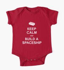 Keep Calm and Build a Spaceship One Piece - Short Sleeve