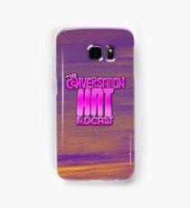 The Conversation Hat Logo Samsung Galaxy Case/Skin