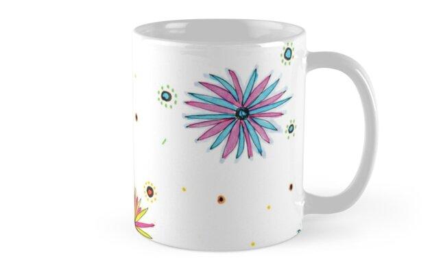Sydney Summer daisies pattern design by mavenbest