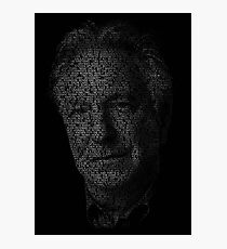 Alan Rickman Photographic Print