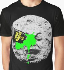 A Trip to the Moon Dump Graphic T-Shirt
