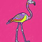 «Mandala Flamingo» de Theysaurus