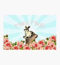 Magic Trick Rabbit Photographic Print