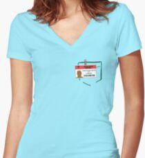 Turk's scrub Women's Fitted V-Neck T-Shirt