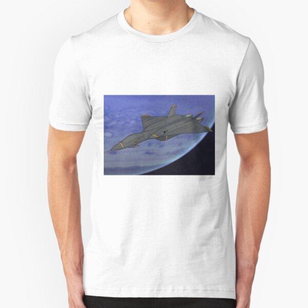 Kaiju Mecha (Fighter Mode) Slim Fit T-Shirt