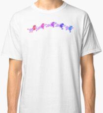 Rainbow poodles Classic T-Shirt