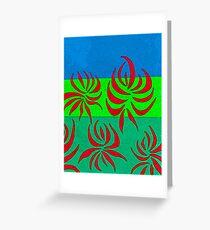 illawarra flame Greeting Card