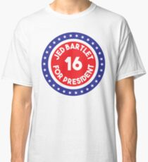 Jed Bartlet 2016 Ring Classic T-Shirt
