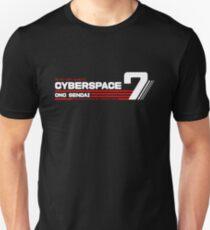 Hosaka Ono-Sendai Cyberpace 7 (Negative) Unisex T-Shirt