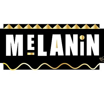 Melanin black gold  by Easygraphixs