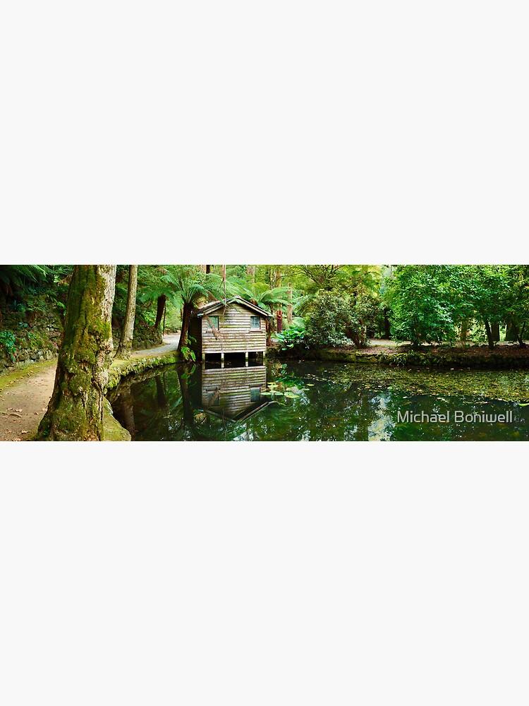 Boathouse, Alfred Nicholas Gardens, Melbourne, Victoria, Australia by Chockstone
