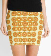 Retro Flower Mini Skirt