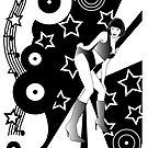 Retro Glam Discotheque by Jacqui Fae