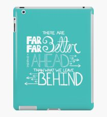 Was die Zukunft bringt iPad-Hülle & Klebefolie