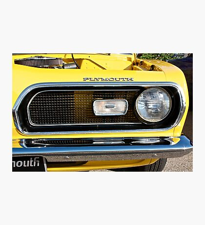 Plymouth Barracuda Photographic Print