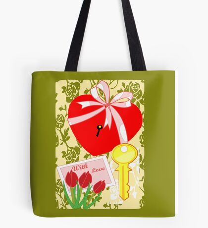 A key to all that your heart desires (1393 Views) Tote Bag