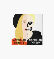American Beauty, American Psycho Art Board