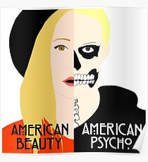 American Beauty, American Psycho Poster