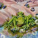 Frowny Froggie by Alma Lee